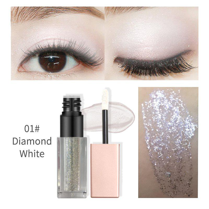 Single Liquid Color Eyeshadow Glitter Pigment Loose Powder Eye Shadow Makeup Hot Fluorescent Luster Soft Pearl 250014501