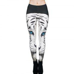 Leggings de pantalons minces de modèle 3D animal d'impression de Digital Digital -