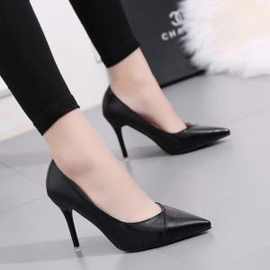 Spring and Autumn New Fashion Women Shoe Slip Shallow Mouth -