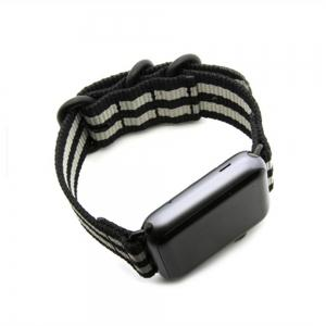 42mm Woven Nylon for iWatch Series 3/2/1 Band Replacement Strap With Black Adapters -