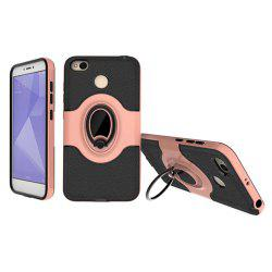 Cover Case for Xiaomi Redmi 4X  With Shock Absorption Dual Design Phone Ring Holder Anti-scratch Protective -
