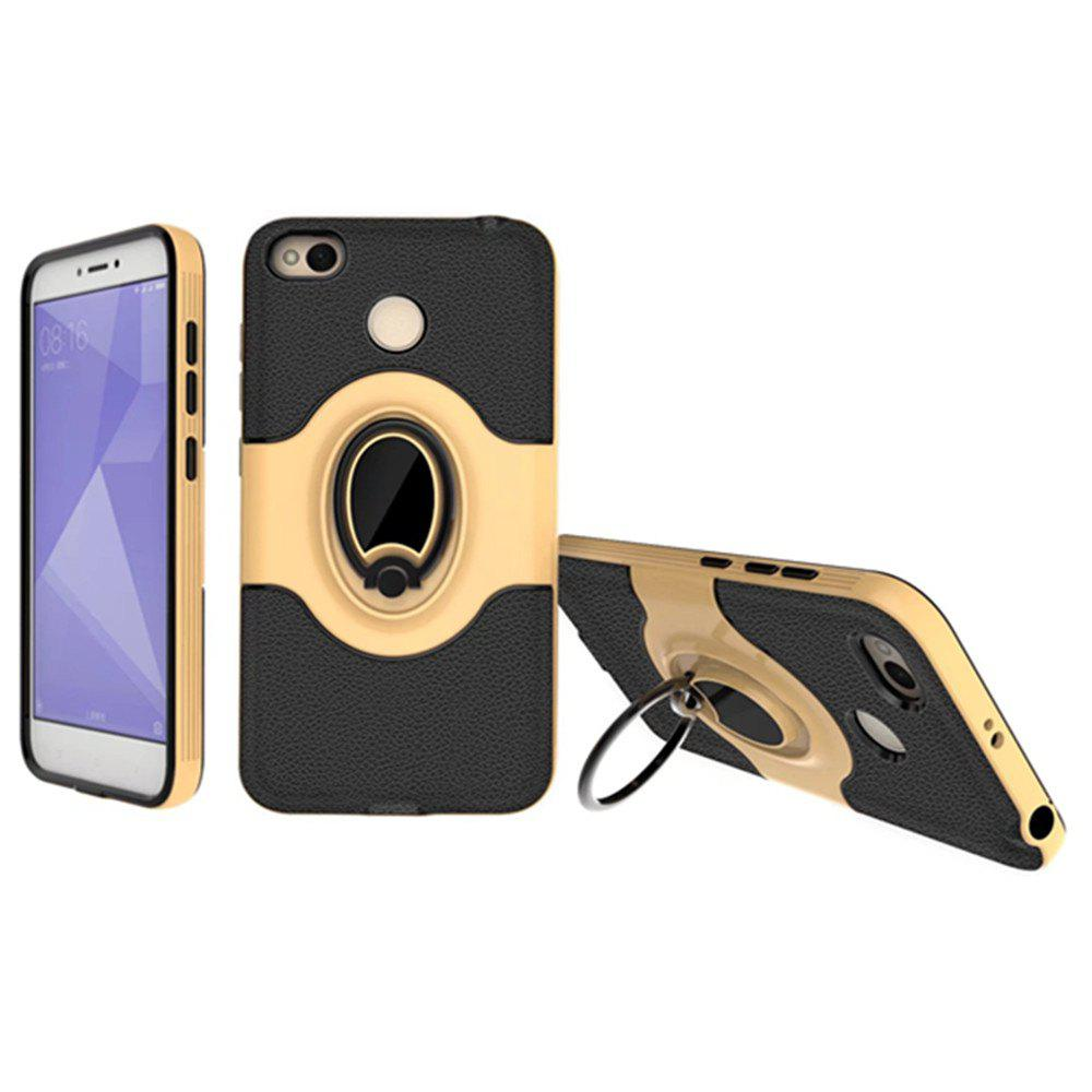 Buy Cover Case for Xiaomi Redmi 4X  With Shock Absorption Dual Design Phone Ring Holder Anti-scratch Protective