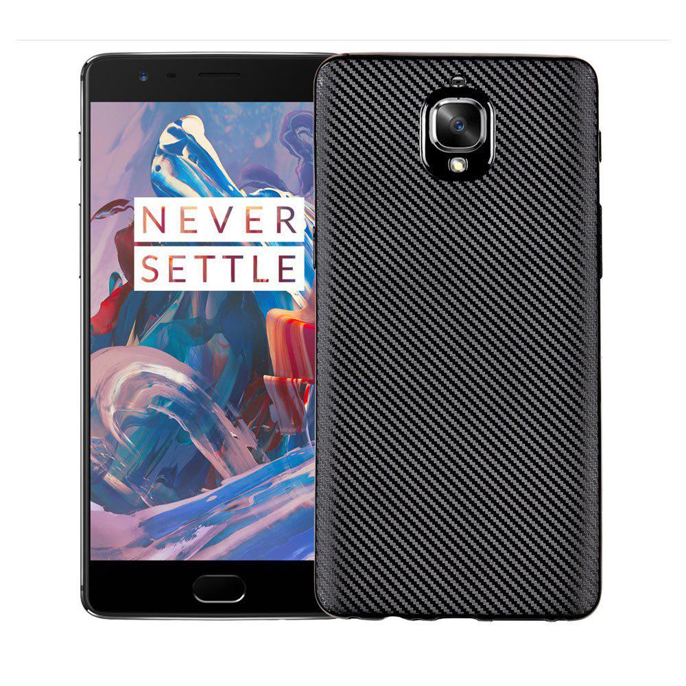 Chic Soft Carbon Fiber Phone Case for Oneplus 3T