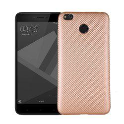 Soft Carbon Fiber Phone Case for Xiaomi Redmi 4X -