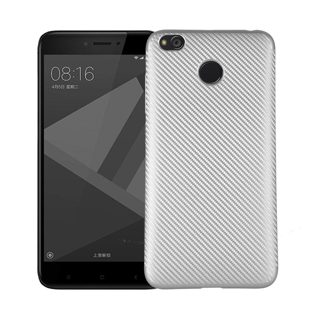 Fancy Soft Carbon Fiber Phone Case for Xiaomi Redmi 4X