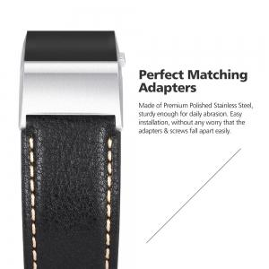 Benuo for Fitbit Charge 2 Genuine Leather -