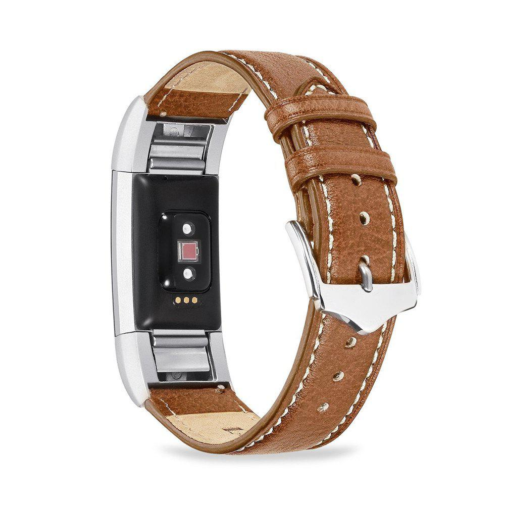 Sale Benuo for Fitbit Charge 2 Genuine Leather