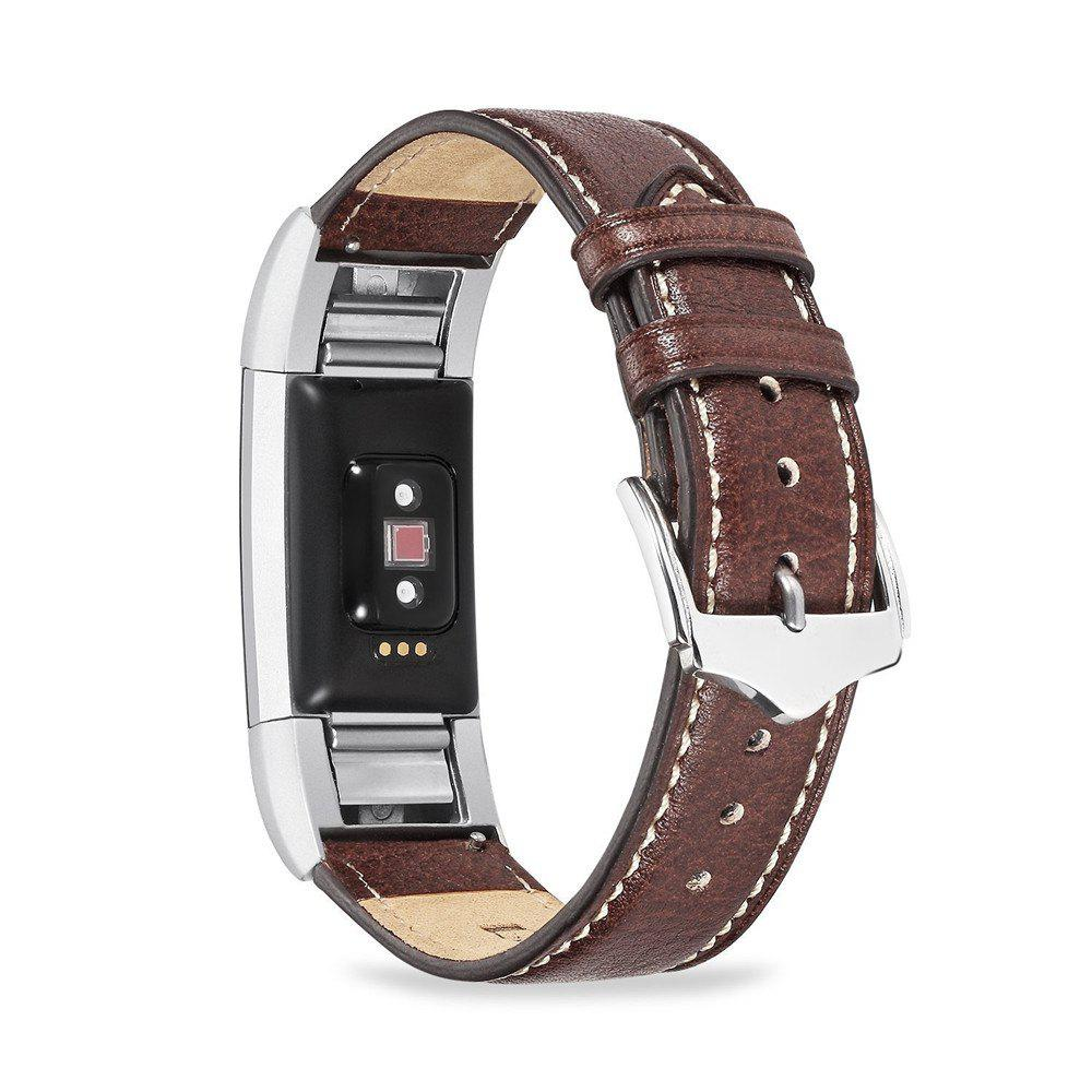 Latest Benuo for Fitbit Charge 2 Genuine Leather