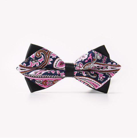 Sale Leather Men'S Printing Bowknot