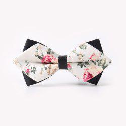 Leather Men'S Printing Bowknot -