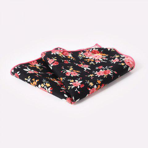 Affordable Men'S Printed Handkerchief Floral Pocket Towel