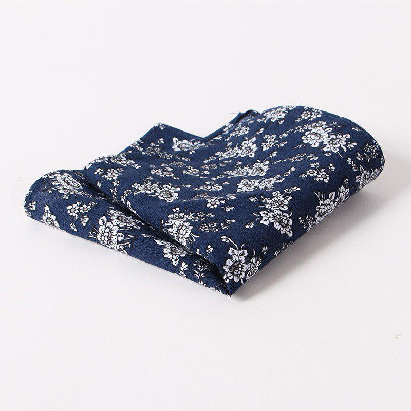 Fashion Men'S Printed Handkerchief Floral Pocket Towel