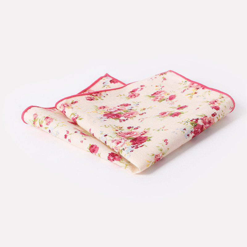 Trendy Men'S Printed Handkerchief Floral Pocket Towel