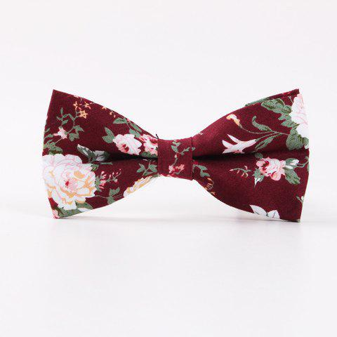 Sale Printed Men'S Leisure Cotton Bow Tie