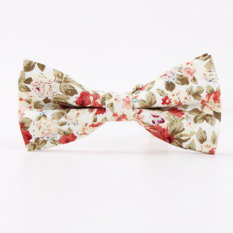 Discount Printed Men'S Leisure Cotton Bow Tie
