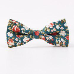 Printed Men'S Leisure Cotton Bow Tie -