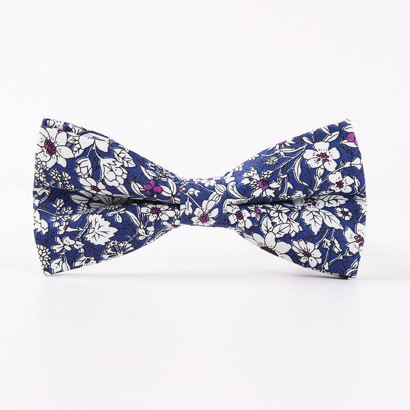 Shops Printed Men'S Leisure Cotton Bow Tie