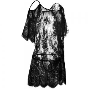 New  Gauze Transparent Temptation Sexy Lace Pajama -