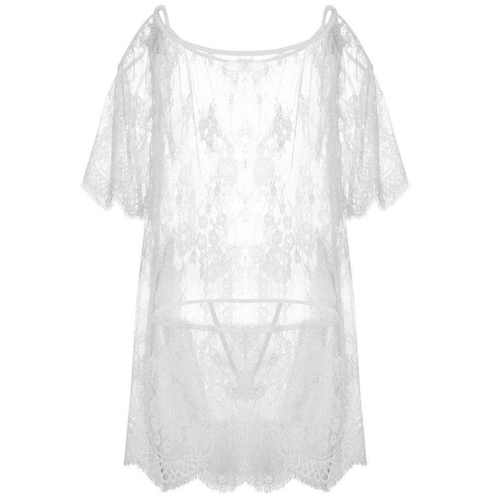 Новая марля Transparent Temptation Sexy Lace Pajama