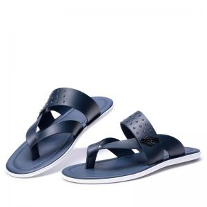 Hot Selling Low Price Popular Style Summer Men Cow Leather Sandal -