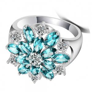 Diamond Ladies Fashion Zircon Ring -