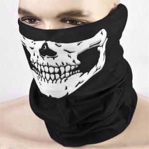 Seamless Multi-Functional Scarf Riding Mask Warm Halloween Props Variety Face Towel -