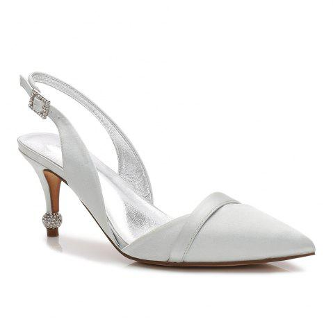 Outfits 17767-44 Stiletto Heel Wedding Shoes Women's Shoes