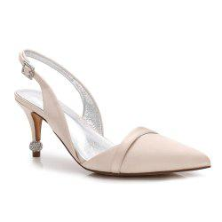 17767-44 Stiletto Heel Wedding Shoes Women's Shoes -