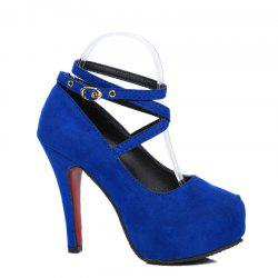 Waterproof Platform Sexy High Heel Shoes -