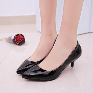 High Heel Stilettos And Shallow-size Single Shoe Girl -