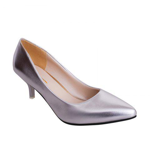 Discount High Heel Stilettos And Shallow-size Single Shoe Girl