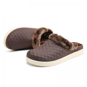 Men Winter Home Slippers Cotton Soft Winter Warm Indoor Bedroom Couple Shoes -