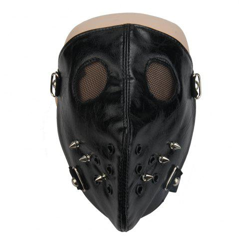 Latest Punk Rivet Mask Personalized Riding Locomotive Dustproof Mask