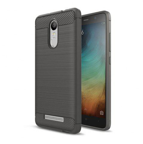 Online Case for Xiaomi Redmi Note 3 Luxury Carbon Fiber Anti Drop TPU Soft Cover