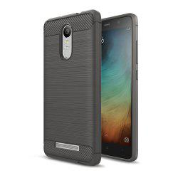 Case for Xiaomi Redmi Note 3 Luxury Carbon Fiber Anti Drop TPU Soft Cover -