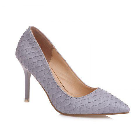 Shop Fashion Sexy Slim High-Heeled Shoes with Thin Shallow Mouth All-Match Pointed Shoes