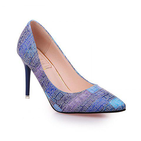 Hot Female with A Fine with Sexy All-Match Pointed High-Heeled Shoes