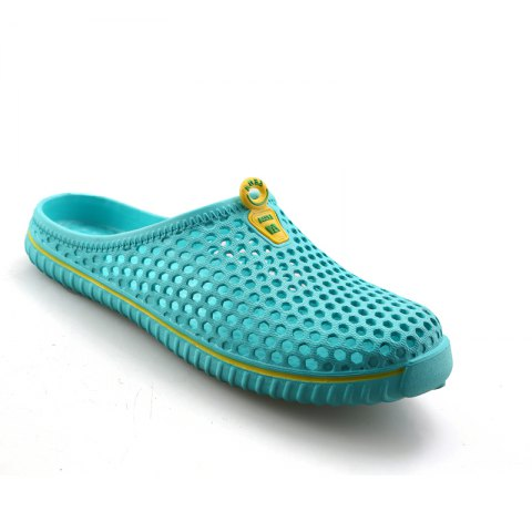 Discount Slippers Beach Shoes Hollow Out Breathable Couples