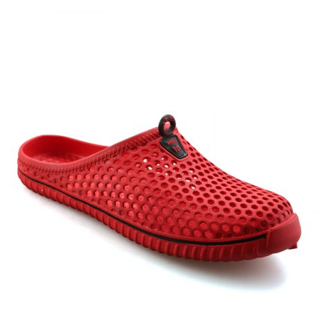 Chic Slippers Beach Shoes Hollow Out Breathable Couples