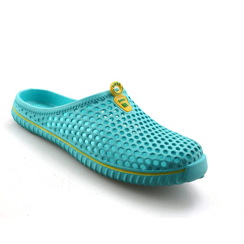 Cheap Slippers Beach Shoes Hollow Out Breathable Couples