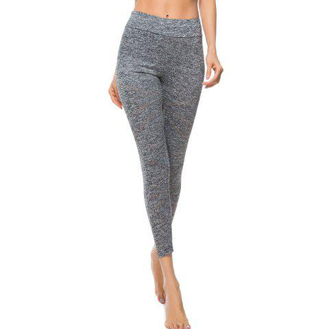 Fashion Women's Fashion High-Waist Solid Color Yoga Leggings