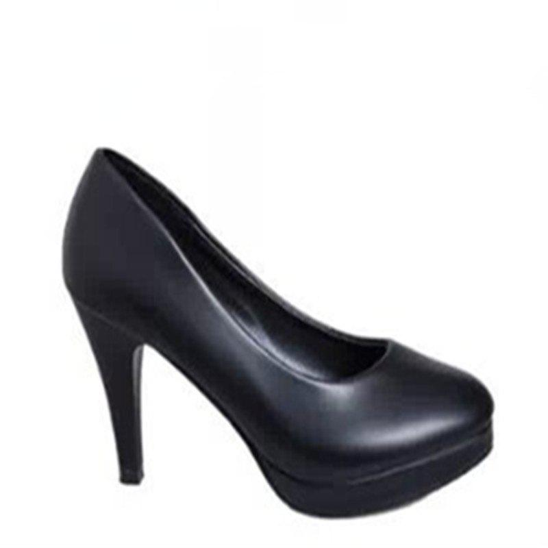 Online Thin And Round Head OL Professional High Heel Women's Shoes