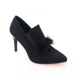Women's Boots With Pointed Heel Fashionable Suede -