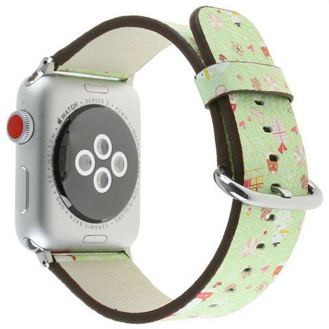 Shops 38 mm Genuine Leather Replacement for iWatch Series 3/2/1 Beautiful Beautiful Christmas
