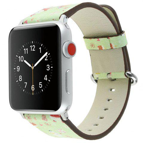 Store 42mm Genuine Leather Replacement for iWatch Series 3/2/1 Beautiful Beautiful Christmas