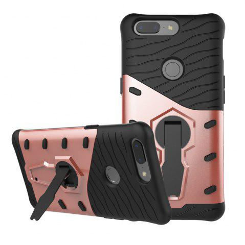 Unique Cover Case for OnePlus 5T  Dual Layer Heavy Duty Hybrid Combo Shock-Resistant  Full Body Protective with 360 Degree Rota