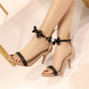 Miss Shoes Open-Toed Sandals -