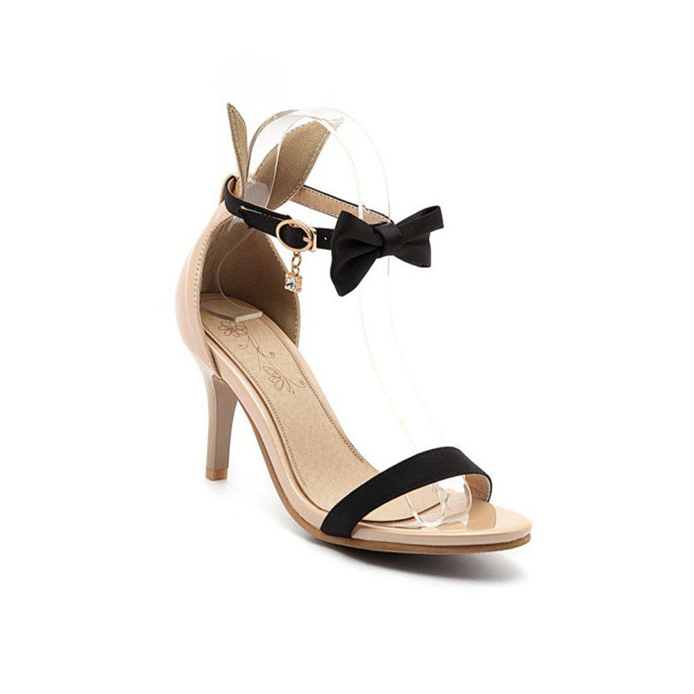 Chic Miss Shoes Open-Toed Sandals