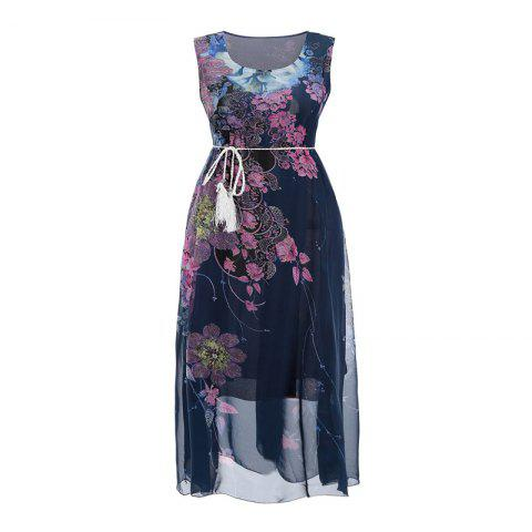 Outfit 2018 New Women'S Dresses and Chiffon Print Dresses