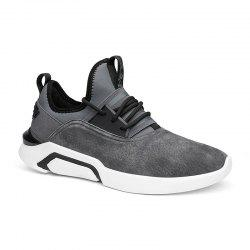 Four Seasons Pigskin Rubber Sole Sports Running Shoes -